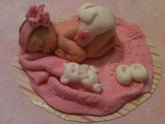 Little Girl with Pink Blanket by anafeke on Etsy, $15.00