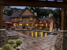 What a gorgeous outdoor living space this turned out to be.