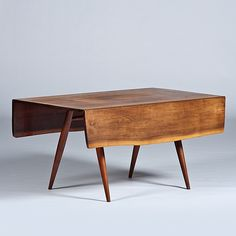 modern George Nakashima table - beautiful
