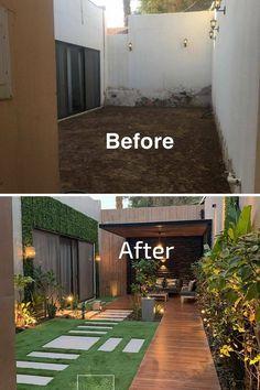 photo via Dream Home Design, Home Interior Design, House Design, Rooftop Terrace Design, Back Garden Design, Home Building Design, Backyard Patio Designs, Small Backyard Landscaping, Outdoor Living