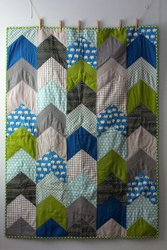 arrow quilt for a | http://best-creative-handmade-collections.blogspot.com