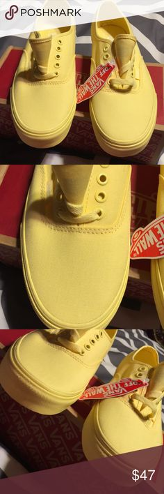 NIB Vans Men's 9, Women's 10,5 Brand new see pics. Vans Shoes