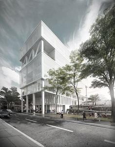 Image 1 of 14 from gallery of MOBO Architects Win Competition to Design Government Building in Bogotá, Colombia. © M.O.N.O.M.O., Courtesy of MOBO Architects