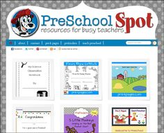 preschoolspot.New preschool online resources.  From great Bloggers