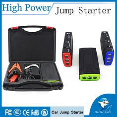 Mini Portable Car Battery Charger Starting Car Jump Starter Booster Power Bank For A 12V Auto♦️ SMS - F A S H I O N  http://www.sms.hr/products/mini-portable-car-battery-charger-starting-car-jump-starter-booster-power-bank-for-a-12v-auto/ US $49.20