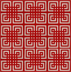 Quilt Inspiration: Free pattern day! Red and white quilts (part 1)