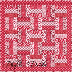 Free+Quilt+Patterns+for+Beginners | Free quilt pattern designed by Phyllis Dobbs for Quilting Treasures