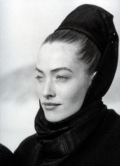 Le Touquet - Pour Azzedine Alaia - Tatiana Patitz - 1986
