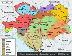 The Austro-Hungarian Empire was a constitutional union of the Empire of Austria and the Kingdom of Hungary that existed from 1867 to 1918, when it collapsed as a result of defeat in World War I.