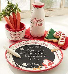 Love this Santa's Cookies & Milk Gift Set!