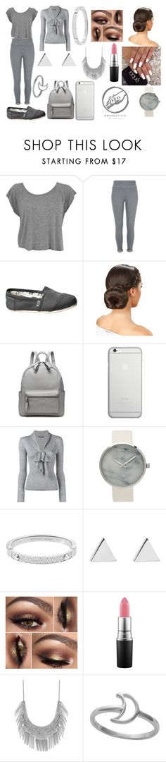 """abnegation"" by rossyelizabethmendez ❤ liked on Polyvore featuring beauty, River Island, TOMS, Native Union, Alexander McQueen, Michael Kors, Jennifer Meyer Jewelry, MAC Cosmetics and Lucky Brand"