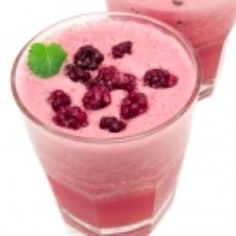 Ice cream punch (fruit punch, sprite, grenadine)