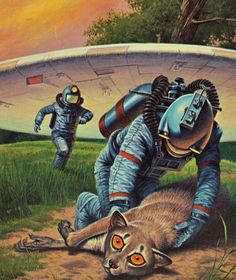 DARRELL K. SWEET - art for Have Space Suit - Will Travel by Robert A. Heinlein - 1977 Del Rey / Ballantine