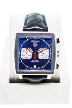 Tag Heuer Monaco CW2113.FC6183 I will own one of these one day.