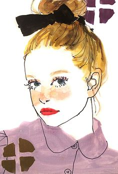 """学生イラストレーター""""土屋みよ""""さんが描く、淡くて強い女の子にどきゅん。 MERY [メリー]"""