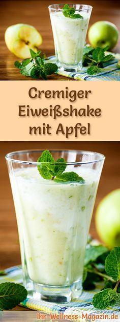 Apfelshake mit Eiweiß und weitere leckere Abnehmshakes, Eiweißshakes & Smoothies zum selber machen für die schlanke Linie ...