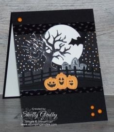 Stampin' Up! Spooky Fun Card                                                                                                                                                                                 More