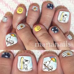 "Beauty Blog — Mananails on Instagram: ""SNOOPY at the..."