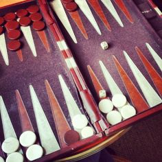 Backgammon- this looks just like my sisters game
