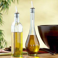 Tinted Class Oil Bottles