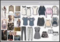 Jerseywear AW13 Jersey range.jpg StyleApple Portfolio Jerseywear. Image courtesy of Annabelle Pooley