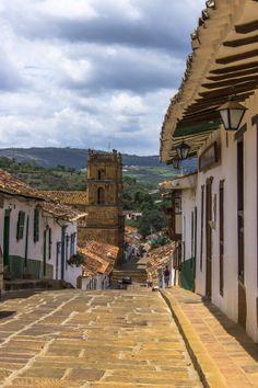 Calle Patiamarilla - Barichara  Santander Colombia