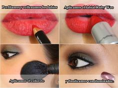 i imagine you have to have these lips to pull this off... but gorgeous!