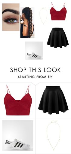 """""""nighout"""" by saraluke-200 on Polyvore featuring adidas and Zoë Chicco"""