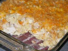 Chicken-Macaroni Casserole. Photo by MSippigirl