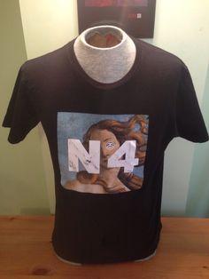 "New to MajorDivision on Etsy: Vintage Black Medium ""N4"" Stussy T-Shirt (25.00 CAD)"
