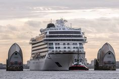 Look closer to get the actual size of this huge ship, Viking Star Cruise