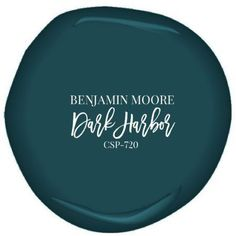 Benjamin Moore's Dark Harbor paint, color for built ins: casing, shelves, and wall all monochrome paint colors Dark Harbor Bedroom Paint Colors, Interior Paint Colors, Paint Colors For Home, Room Colors, Wall Colors, House Colors, Paint Colours, Small Bathroom Paint Colors, Teal Living Room Paint