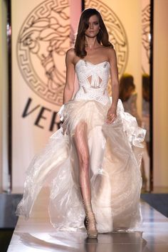 Versace 2013, wedding dress? If it wasn't your first marriage