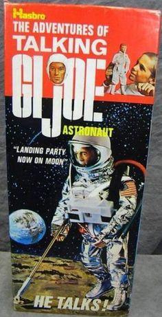 HASBRO: 1969 Talking GI Joe Astronaut #Vintage #Toys