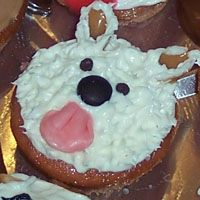 dog theme party cupcake1