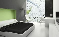Habitación con Verde Limón