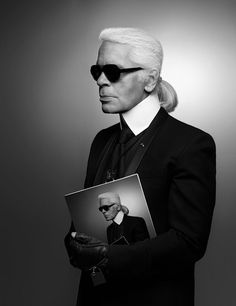Kaiser of Style, Fashion and Extravagance .Karl Lagerfeld left this world Feb 19 last year.Kaiser of Style, Fashion and Extravagance .Karl Lagerfeld left this world Feb 19 last year # Karl Lagerfeld, Lara Stone, Fashion History, Fashion News, Icon Fashion, Style Fashion, High Fashion, Karl Otto, Pin Up