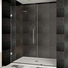 "LessCare Ultra-E 30"" x 72"" Hinged Shower Door"