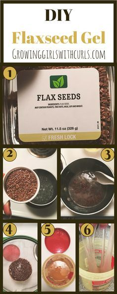 How to make your own flaxseed gel from home.