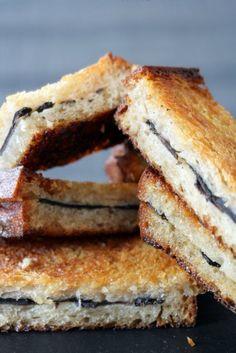 Le sandwich tiède à la truffe fraiche et beurre salé de Michel Rostang