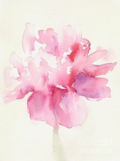 Pretty watercolor flower. Love this for a tattoo....shoulder?