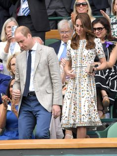 Kate Middleton's Skull-Print Wimbledon Dress Is Something You Have to See to Believe