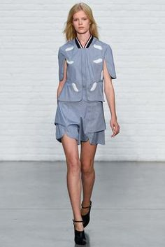 Yigal Azrouël Spring 2015 Ready-to-Wear Fashion Show: Complete Collection - Style.com