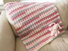 Ravelry: Cross-Over Block Stitch Baby Blanket pattern by Jamey from Dabbles & Babbles