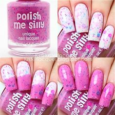Dreaming in Pink Color Changing Thermal Nail by PolishMeSilly
