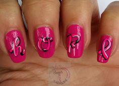 365 days of nail art : Day 281) Colour change nail polish Casuelle