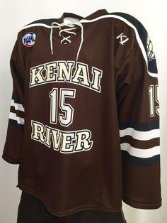 80b2586bc Kenai River Brown Bears custom sublimated 2016-2017 hockey jersey. K1  Sportswear is a