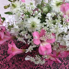 On Of Spring and Summer: Florets - Floral Quote by another flower lover - Rachel Ashwell founder of Shabby Chic.