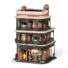 Amazon.com: Department 56 Christmas In The City Jambalaya Cafe: Home & Kitchen
