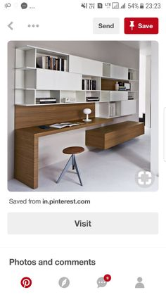 Interior design is the best thing you can do for your home Rustic Home Interiors, Modern Home Interior Design, Design Your Home, Home Office Design, House Design, French Interior, Interior Ideas, Interior Styling, Study Table Designs